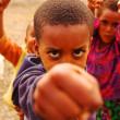 エチオピアの子供達の写真