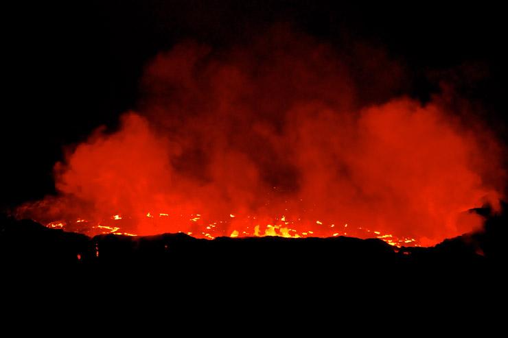 火口を間近で見られると言うエルタ・アレ火山に行く方は要注意! | ダナキル砂漠ツアー05