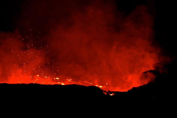 エルタ・アレ火山