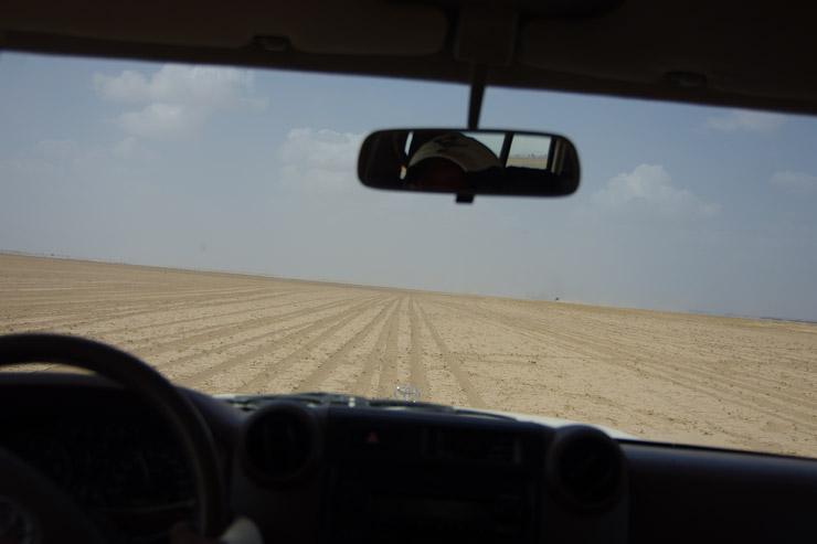 エチオピアの砂漠