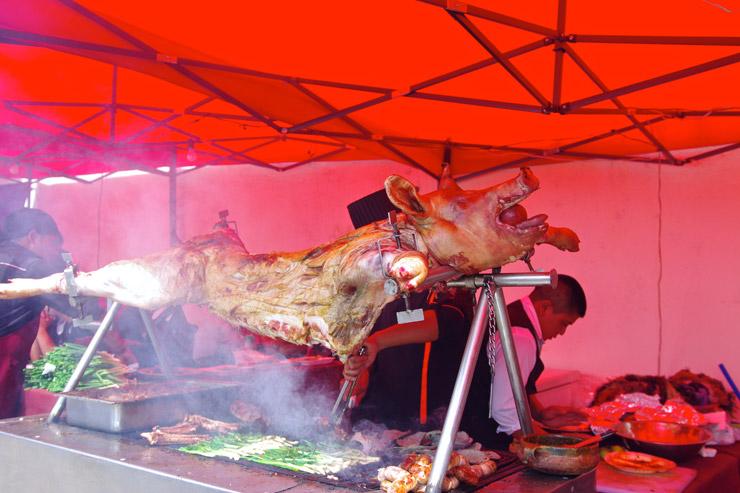 グアテマラの屋台飯