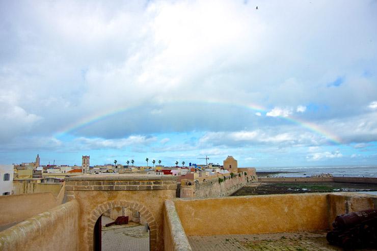 モロッコの虹