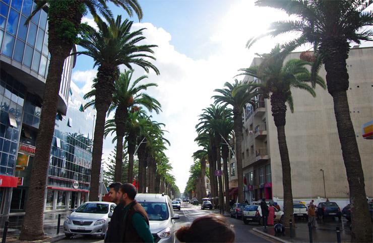 アル・ジャディーダの町並