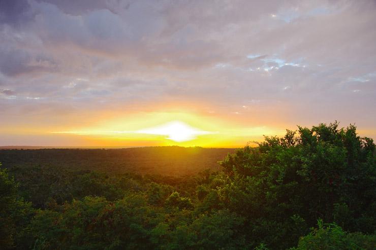 ティンタールの夕陽
