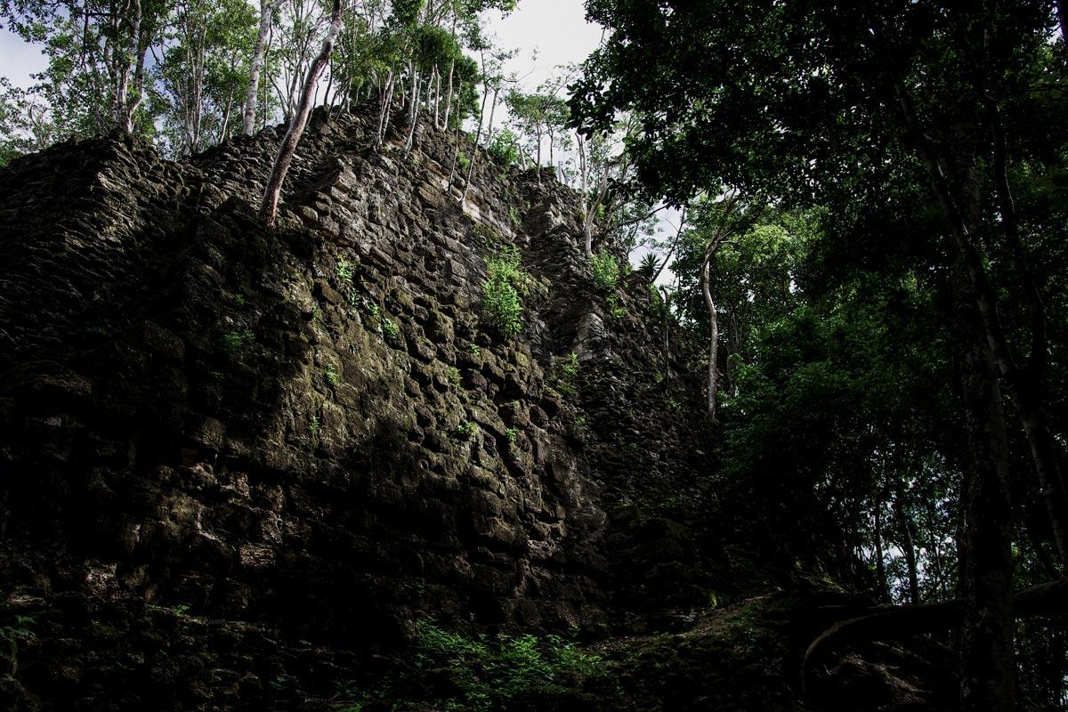 マヤ最大の遺跡『エル・ミラドール』にある世界最大のピラミッド