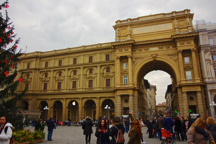 フィレンツェのアップルストア