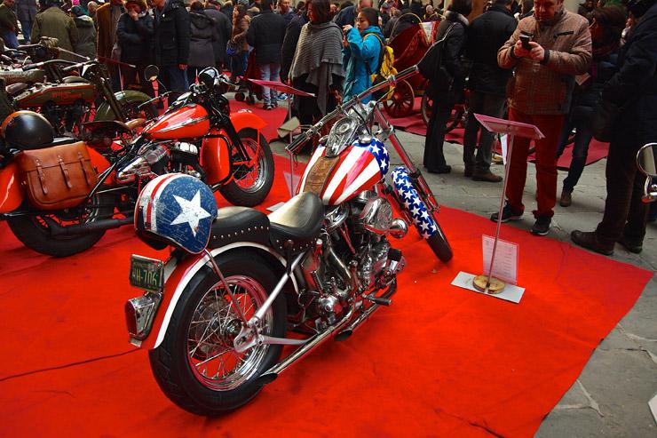 映画『イージーライダー』で使われたバイク