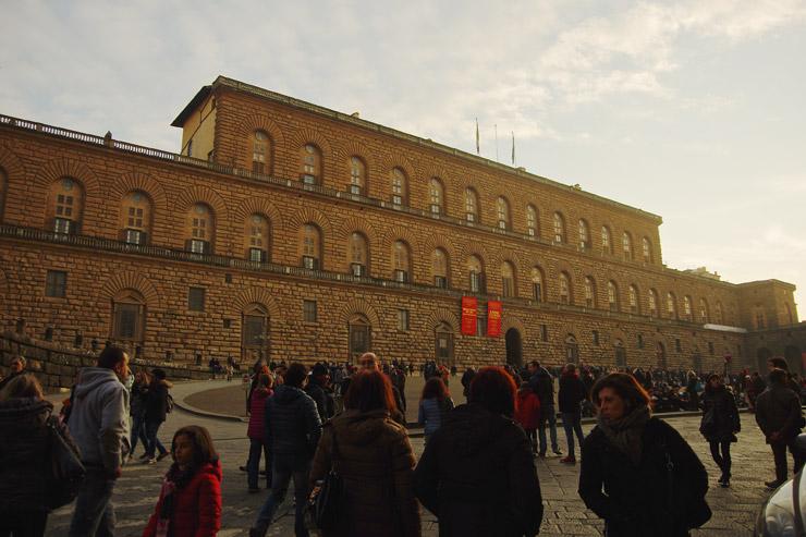 ピッティ宮殿