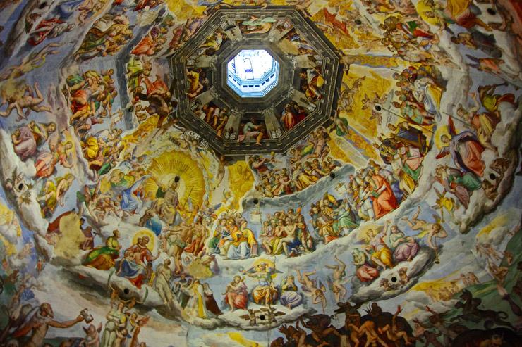 フレスコ画『最後の審判(Giudizio Universale)』