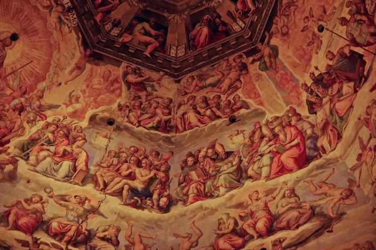 フレスコ画、最後の審判