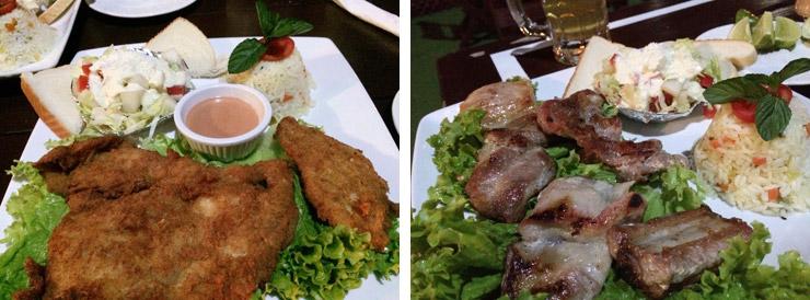 フローレスのレストラン