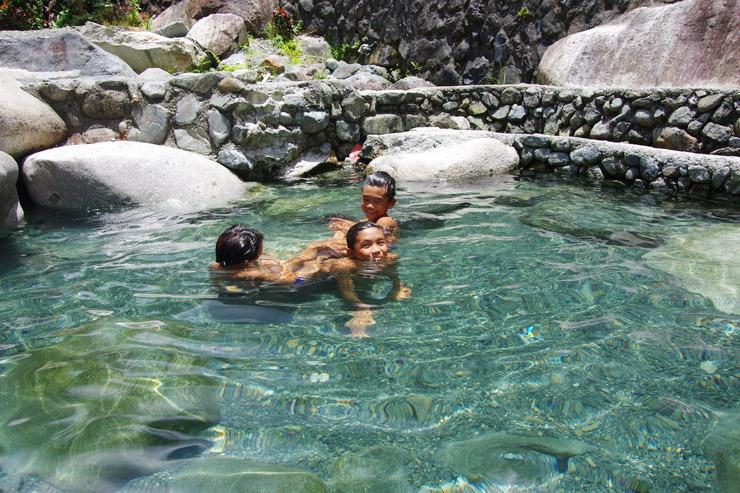 バナウェにある温泉