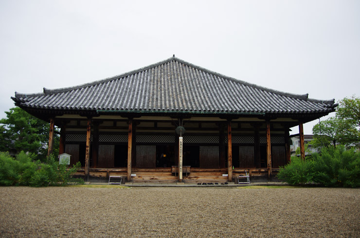 本堂・元興寺極楽堂(極楽坊本堂・曼荼羅堂)