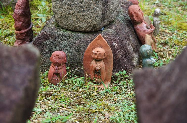 元興寺の石仏