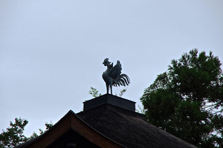 観音殿(銀閣)の鳳凰