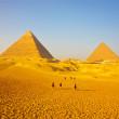 ギザの三大ピラミッド | 世界遺産『メンフィスとその墓地遺跡-ギーザからダハシュールまでのピラミッド地帯』