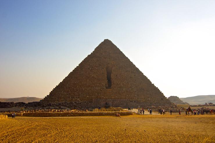 メンカウラー王のピラミッド<