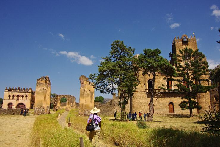 ファジル・ゲビ、ゴンダール地域 | エチオピアの世界遺産