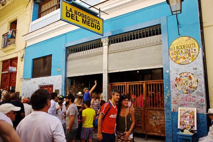 モヒート発祥のお店、La Bodeguita del Medio
