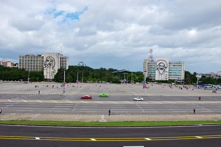 ハバナの革命広場