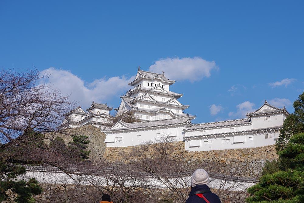 白すぎる城、姫路城