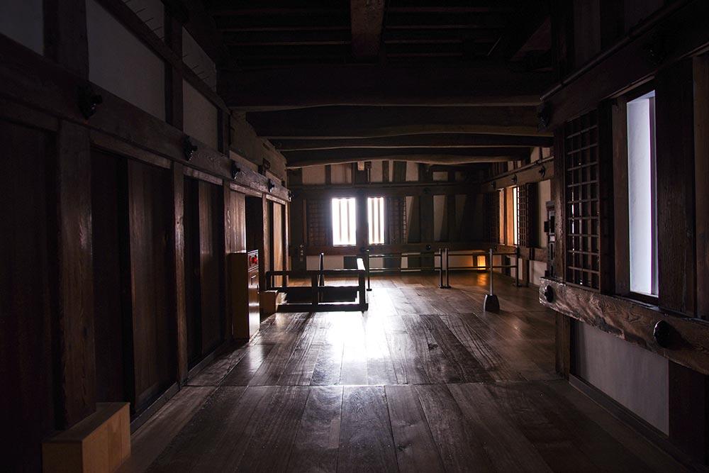 姫路城の内部