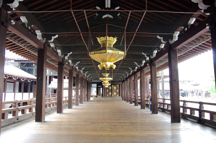 本願寺の廊下