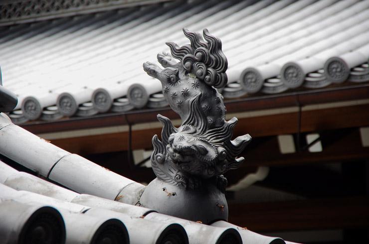 本願寺の唐獅子
