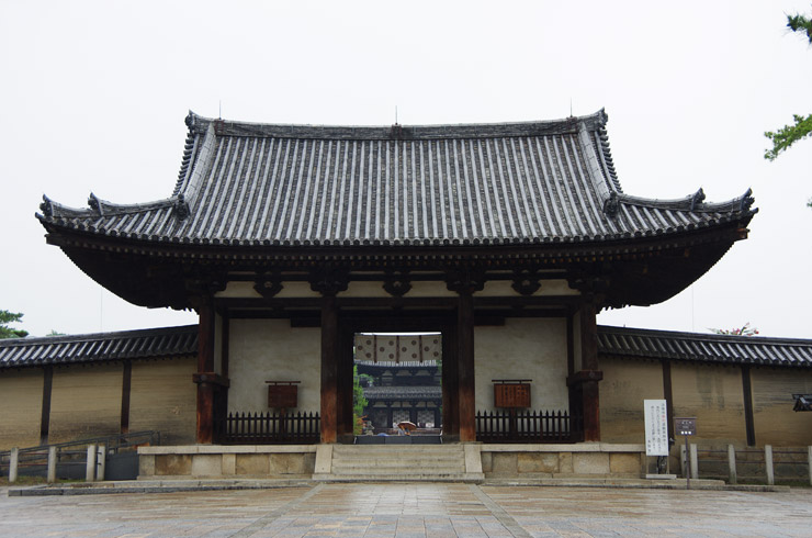 南大門 法隆寺の国宝