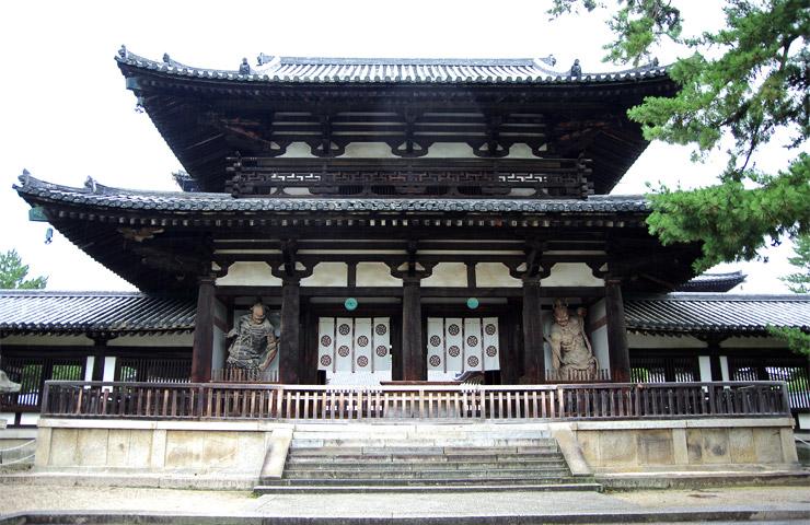中門 法隆寺の国宝