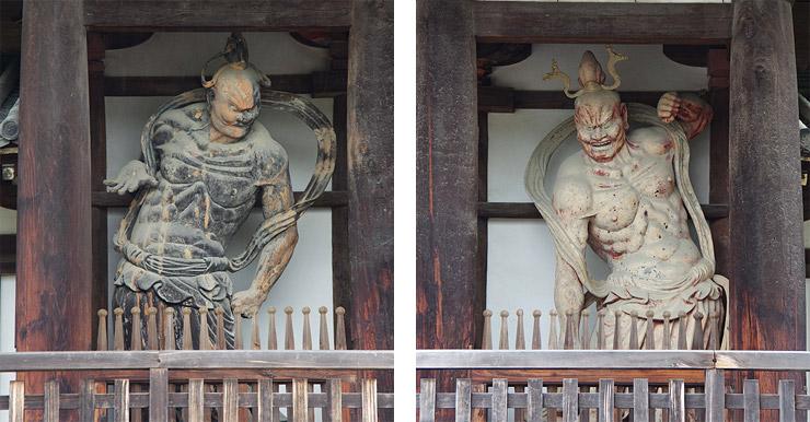 日本最古の金剛力士像