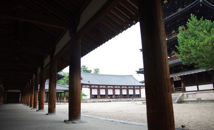 廻廊 法隆寺の国宝