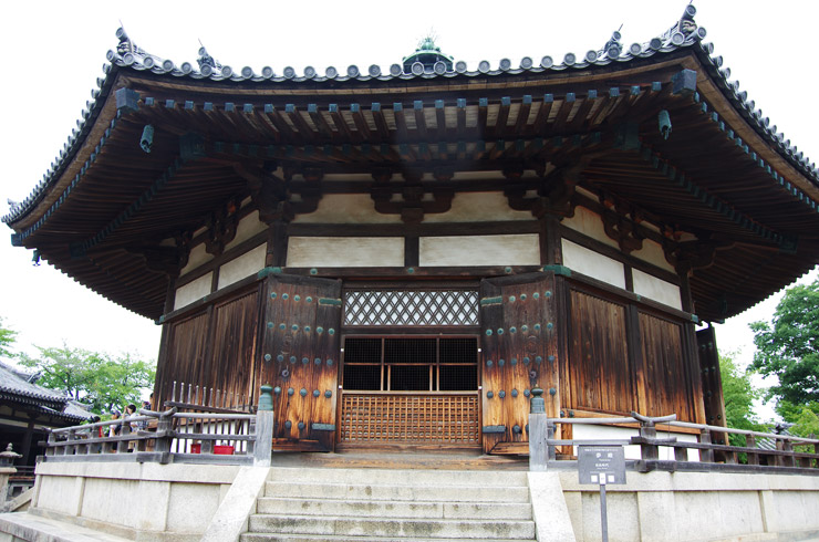 夢殿(ゆめどの) 法隆寺の国宝