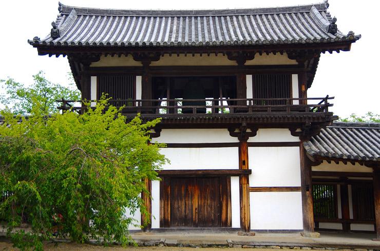 鐘楼(しょうろう) 法隆寺の国宝