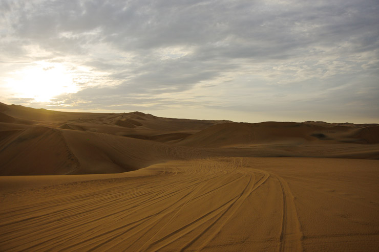 砂漠のオアシス『ワカチナ』