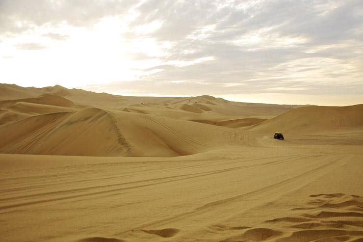 ペルーの砂漠 ワカチナ