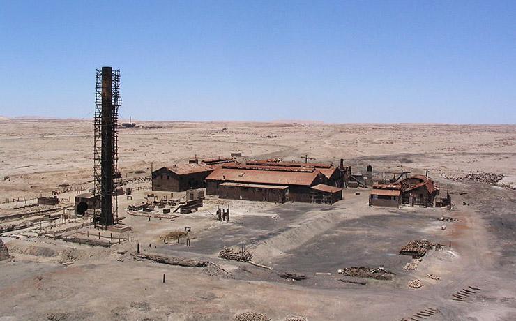 ハンバーストーンとサンタ・ラウラ硝石工場群