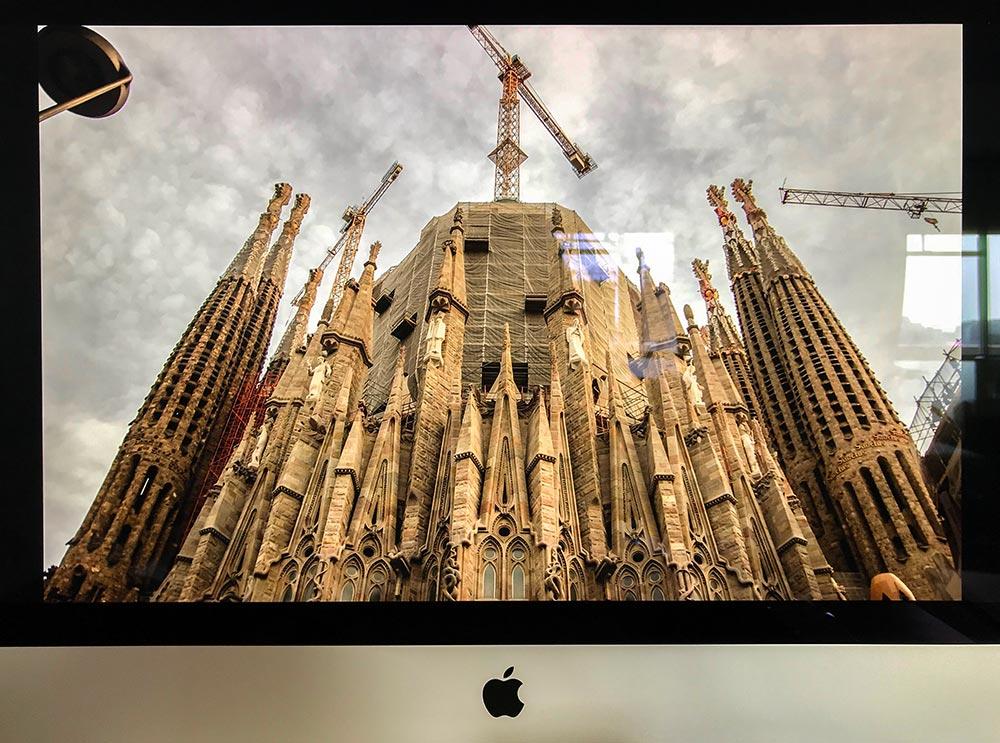 iMac2019の画面