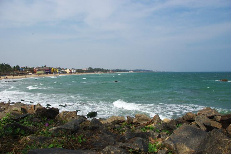 マハーバリプラムの海岸