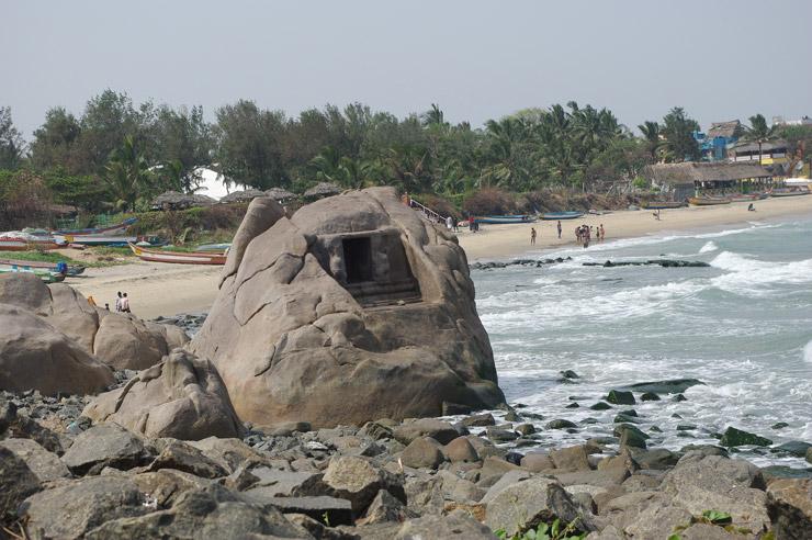 海岸寺院周辺