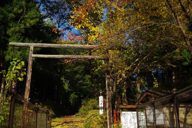 金鶏山の入り口