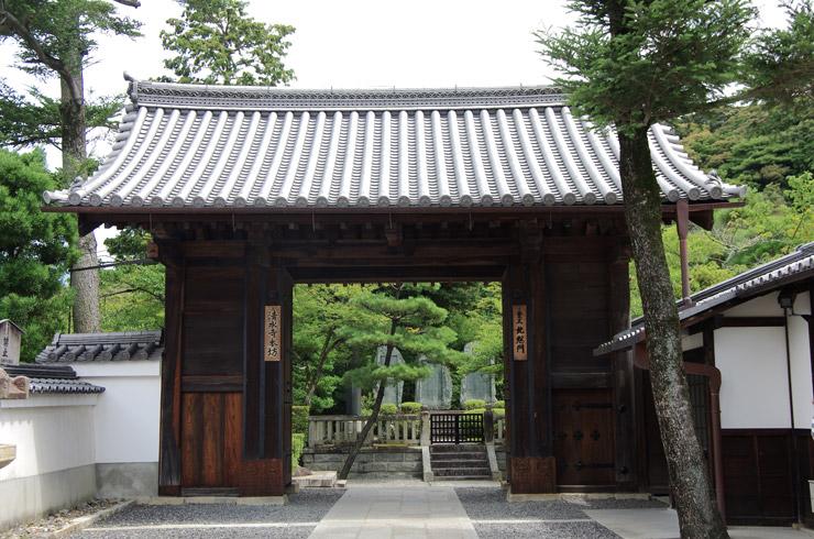 北総門(きたそうもん) 清水寺の重要文化財
