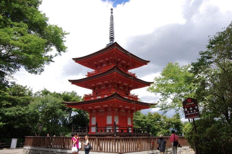 子安塔(こやすのとう) 清水寺の重要文化財