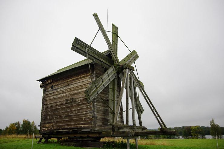 キジ島の風車