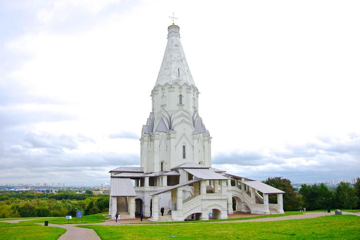 コローメンスコエの主の昇天教会(ヴォズネセーニエ教会)