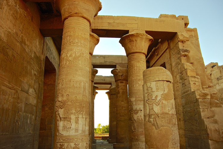 ポルナレフとアヌビス神が決闘したコム・オンボ神殿