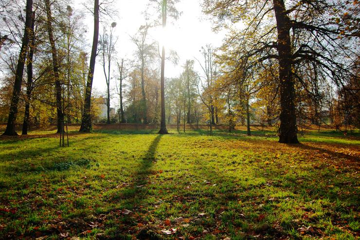 クロミェルジーシュの庭園群と城