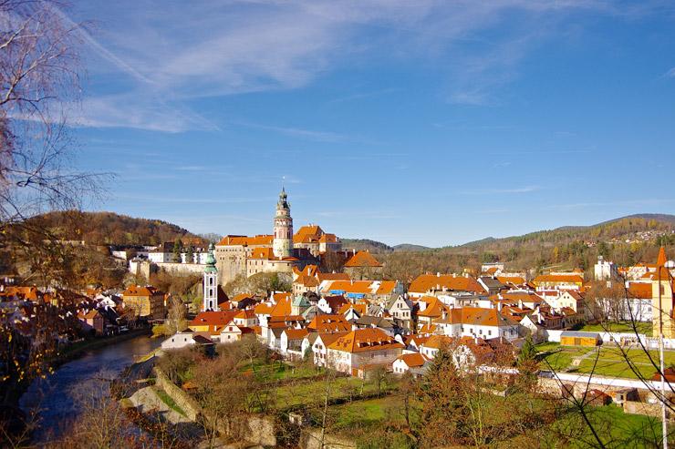 チェスキー・クルムロフ歴史地区 | チェコの世界遺産