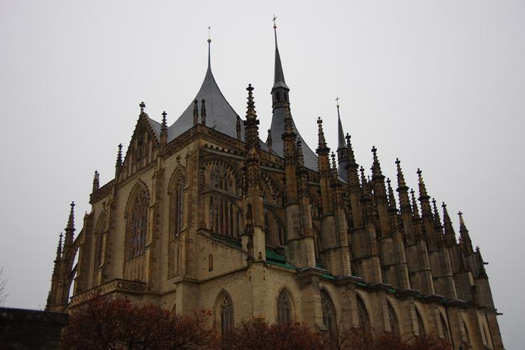 クトナー・ホラ:聖バルバラ教会