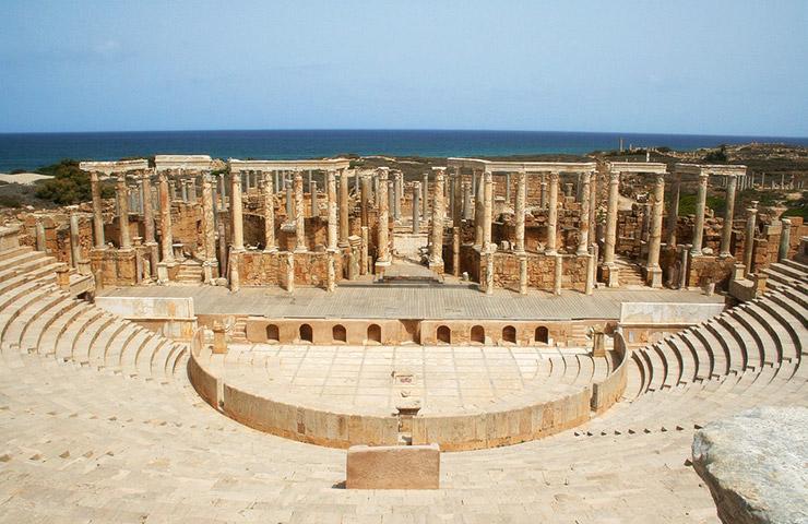 リビアの世界遺産、一覧